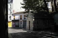 Eaux de Belleville : Regard Saint-Martin - Deutsch: Regard Saint-Martin in der Rue des Cascades n° 42 in Belleville im 20. Arrondissement in Paris (Île-de-France/Frankreich)