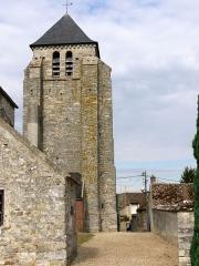 Eglise - English: Church of Achères la Foret, Ile de France, France