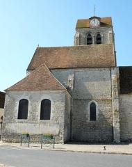 Eglise - Deutsch: Kirche Saint-Barthélemy in Beaumont-du-Gâtinais (Frankreich)