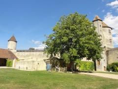 Château - Tour de Justice et tour des Archives.