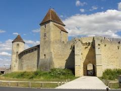 Château - Tour Nord, tour Carrée et poterne.