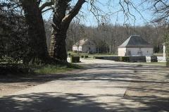 Château de Bourron - Deutsch:   Château de Bourron in Bourron-Marlotte im Département Seine-et-Marne (Île-de-France/Frankreich), Schlosspark
