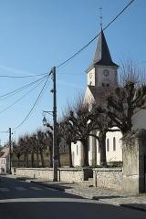 Eglise - Deutsch: Katholische Pfarrkirche Saint-Sévère in Bourron-Marlotte im Département Seine-et-Marne (Île-de-France/Frankreich)