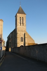 Eglise - English: The church in the commune of La Chapelle-la-Reine, France.