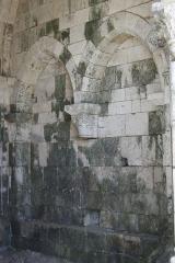 Eglise Saint-André - Deutsch: Ehemaliges Priorat Saint-André in Château-Landon, einer Gemeinde im Département Seine-et-Marne (Île-de-France), aus der Mitte des 12. Jahrhunderts, Blendarkaden