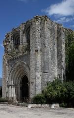 Eglise Saint-André - Deutsch: Ehemaliges Priorat Saint-André in Château-Landon, einer Gemeinde im Département Seine-et-Marne (Île-de-France), aus der Mitte des 12. Jahrhunderts