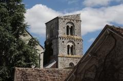 Tour de Saint-Thugal - Deutsch: Turm der ehemaligen Kirche Saint-Thugal in Château-Landon, einer Gemeinde im Département Seine-et-Marne (Île-de-France), aus dem 11. Jahrhundert