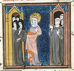 Ancienne abbaye royale - English: Saint Bathild