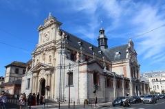 Eglise Saint-Louis - Français:   Église Saint-Louis de Fontainebleau.