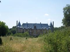Ancien château du duc d'Epernon, dit aussi Ancien château des Sources - English: Castle of the duke of Épernon (Seine-et-Marne department, Île-de-France region)