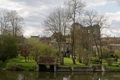 Château (vestiges) - English:  Ancien port de Grez-sur-Loing.