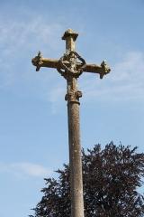 Croix de l'ancien cimetière - Deutsch: Kreuz (13. Jahrhundert) in Jouarre