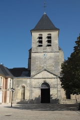 Eglise Notre-Dame-des-Ardents et Saint-Pierre - Deutsch: Ehemalige Abteikirche Notre-Dame-des-Ardents in Lagny-sur-Marne im Département Seine-et-Marne in der Region Île-de-France (Frankreich)