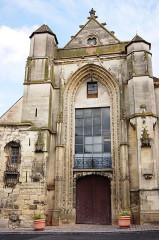 Eglise Saint-Furcy  : partie subsistante - Français:   Ancienne église Saint-Fursy - Lagny sur Marne
