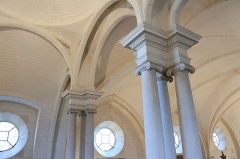 Eglise de Lorrez-le-Bocage - Français:   Un aperçu sur les voûtes.