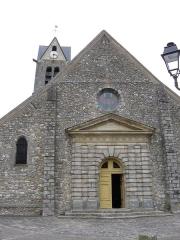Eglise Saint-Etienne - Français:   Église Saint-Étienne de Maincy (façade occidentale). ( Seine-et-Marne, région Île-de-France).