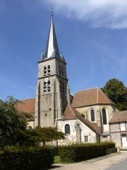 Eglise Saint-Germain - English: Church of Marles en Brie, Seine et Marne, Ile de France