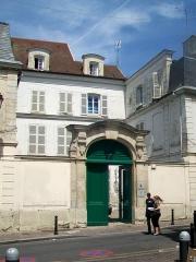 Hôtel Macé de Montoury -  Hôtel Macé de Montoury, 38 rue Saint-Rémy