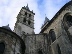 Eglise Notre-Dame -  Vue de la collégiale Notre-Dame de Melun.