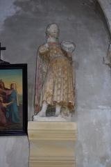 Eglise Saint-Martin - Français:   Église Saint Martin - statue Village de Moisenay