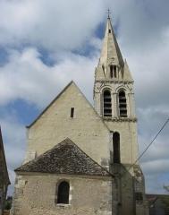 Eglise Saint-Martin - Français:   Église Saint-Martin de Moisenay. ( Seine-et-Marne, région Île-de-France).