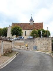 Eglise Saint-Mammes - Français:   Église Saint-Mammès de Montarlot (Seine-et-Marne, France)