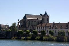 Eglise Notre-Dame -  Église Notre-Dame et Saint-Loup de Montereau-Fault-Yonne, Seine-et-Marne, France