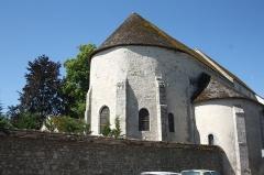 Chapelle Saint-Pierre de Pontloup - Deutsch: Kapelle Saint-Pierre de Pontloup in Moret-sur-Loing im Département Seine-et-Marne (Île-de-France)