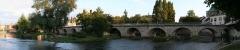 Pont de Moret - English:  Bridge of Moret-sur-Loing.