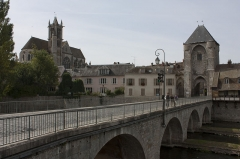 Pont de Moret -  Pont de Moret.