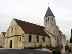 Eglise Saint-Vincent -  Vue depuis le sud-ouest.