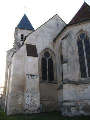 Eglise Saint-Vincent - English: The church of Moussy-le-Neuf, Seine-et-Marne, France.