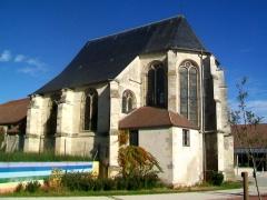 Eglise Saint-Martin - Français:   Le chœur gothique.