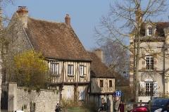 Maison -  Maisons au 54, 56 et 58 rue Saint-Thibault, Provins, département de Seine-et-Marne, France