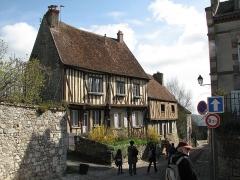 Maison -  House in old town Provins 54 rue Saint-Thibaut, Ile de France, France.