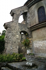 Eglise - English: Église Saint Jean-Baptiste - Saint-Thibault-des-Vignes - Arrière