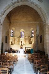Eglise - English: Église Saint Jean-Baptiste - Saint-Thibault-des-Vignes - Intérieur