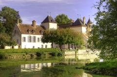 Château de Sigy -  Une autre vue de ce charmant petit château.