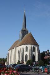 Eglise Saint-Clair-Saint-Léger - Deutsch: Katholische Pfarrkirche Saint-Clair-Saint-Léger in Souppes-sur-Loing im Département Seine-et-Marne in der Region Île-de-France (Frankreich), Ansicht von Osten