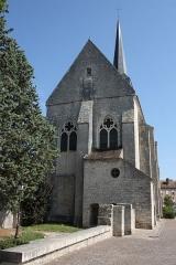 Eglise Saint-Clair-Saint-Léger - Deutsch: Katholische Pfarrkirche Saint-Clair-Saint-Léger in Souppes-sur-Loing im Département Seine-et-Marne in der Region Île-de-France (Frankreich), Ansicht von Westen