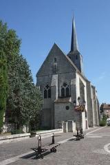 Eglise Saint-Clair-Saint-Léger - Deutsch: Katholische Pfarrkirche Saint-Clair-Saint-Léger in Souppes-sur-Loing im Département Seine-et-Marne in der Region Île-de-France (Frankreich), Ansicht von Südwesten