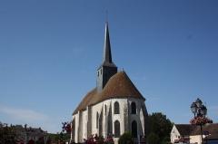 Eglise Saint-Clair-Saint-Léger - Deutsch: Katholische Pfarrkirche Saint-Clair-Saint-Léger in Souppes-sur-Loing im Département Seine-et-Marne in der Region Île-de-France (Frankreich), Ansicht von Südosten