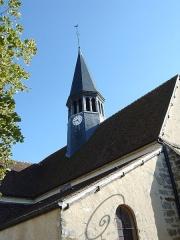 Eglise Saint-Amand - English: Saint Amandus Church in Thomery, Seine-et-Marne, France