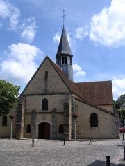 Eglise Saint-Amand - English: St.Amandus' church, in Thomery, Seine-et-Marne, France.