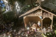 Eglise - Français:   Crèche dans le caquetoire de l\'église Saint-Martin de Treuzy-Levelay