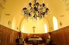Eglise - Français:   Le chœur est la partie la plus ancienne de l\'église (an 1000).