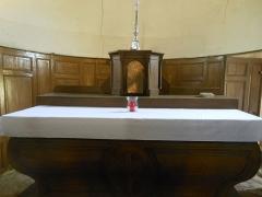 Eglise - Français:   Je visite l\'intérieur de l\'église ...