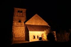 Eglise - Français:   L\'église, Saint Martin, située dans le village de Treuzy-Levelay.