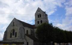 Eglise Saint-Etienne - English: The church Eglise Saint Etienne, built in XIIIth Century in w:Villiers-sous-Grez