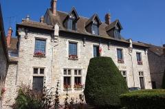 Ancienne maison Clément, actuellement hôtel de ville -  Ancien hôtel de ville de Moret-sur-Loing (Seine-et-Marne, France)
